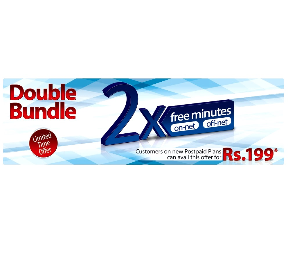 Warid brings Double Bundle Limited Time Offer