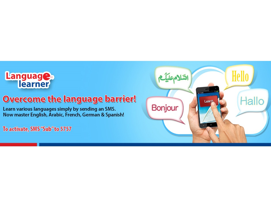 Warid Launches a Language Learner Service