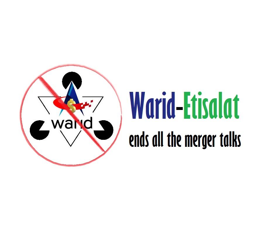Warid-Etisalat ends all the merger talks