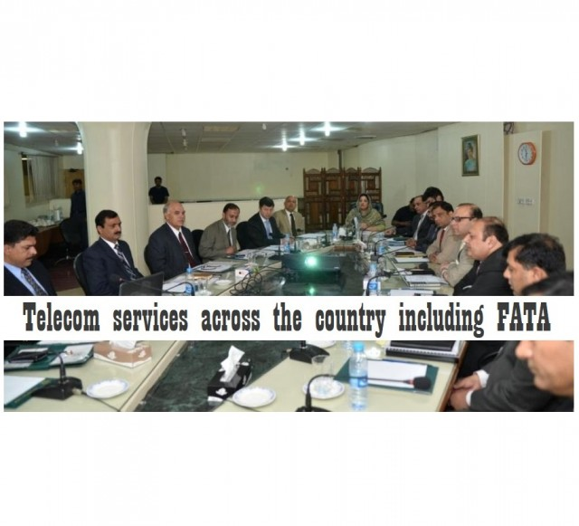 Anusha Rehman ensures the provision of telecom services in FATA