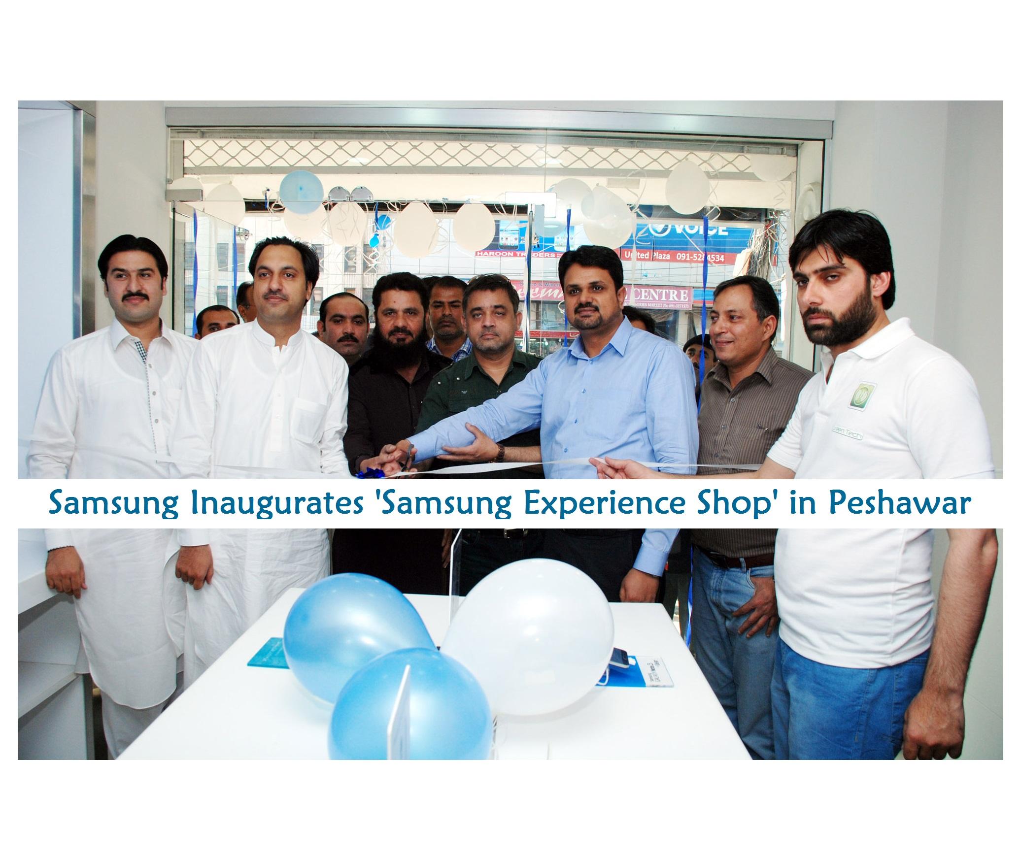 Samsung Inaugurates Samsung Experience Shop in Peshawar