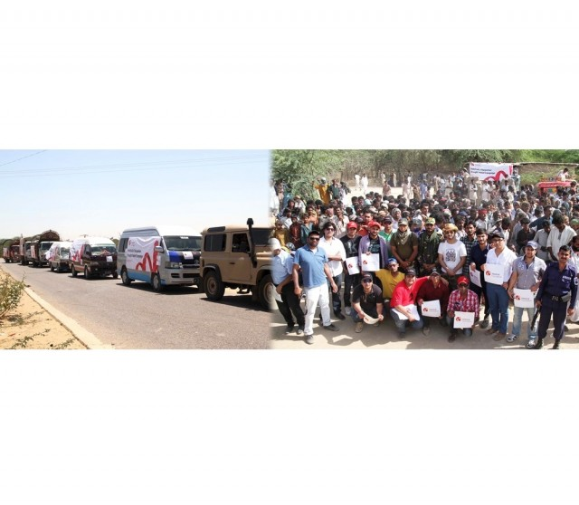 Mobilink Foundation Relief Operations in Tharparker