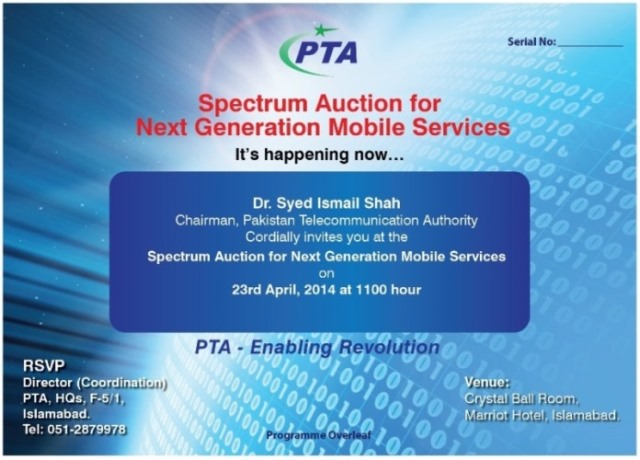 Get Ready For 3G/4G Auction Tomorrow
