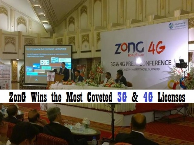 ZonG Wins the Most Coveted 3G & 4G Licenses
