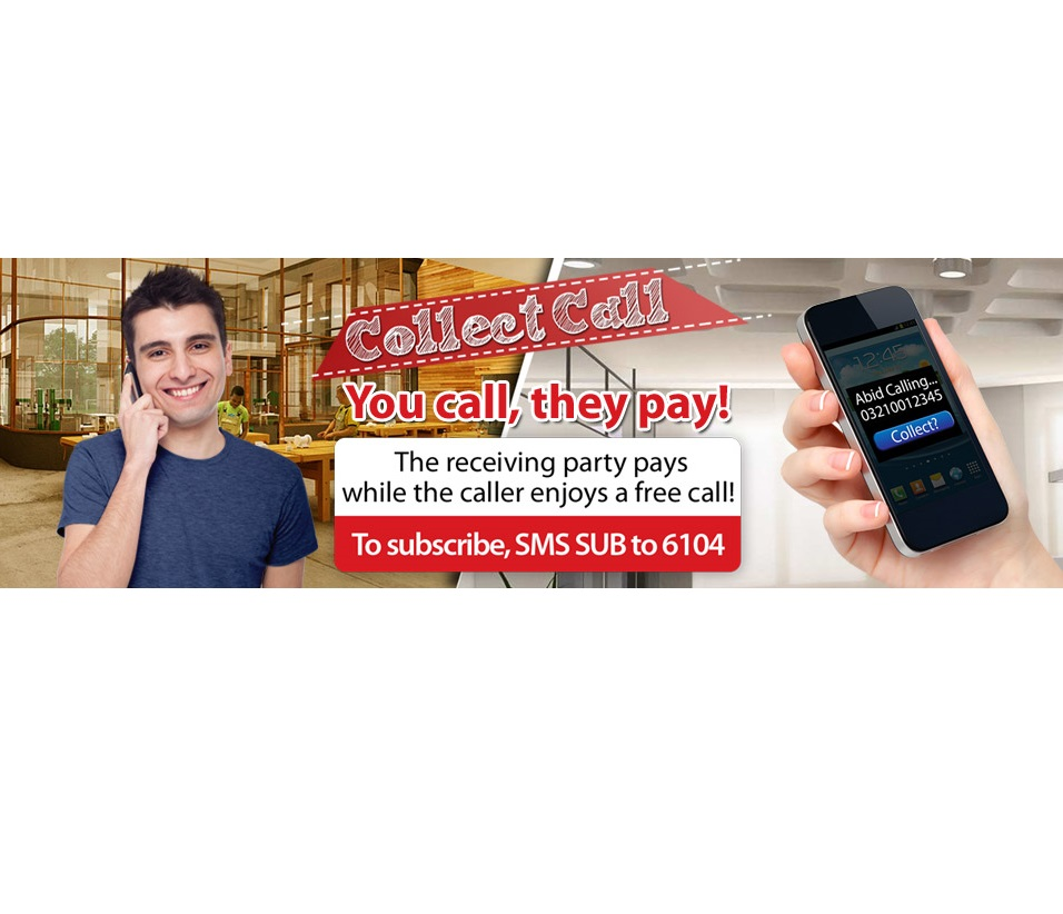 Warid Bring Collect Call and SMS Service