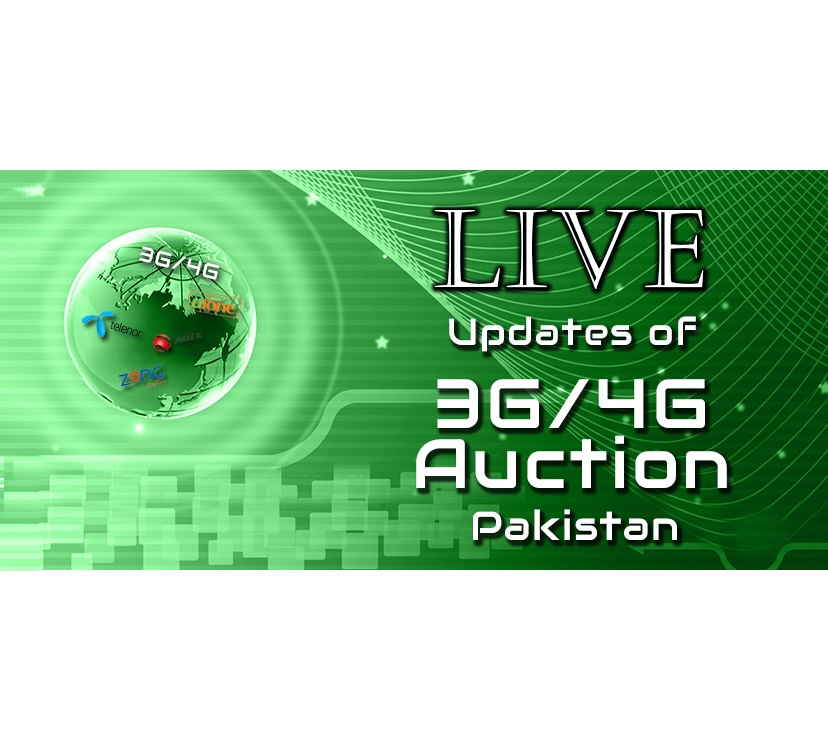 Updates from 3G/4G License Auction