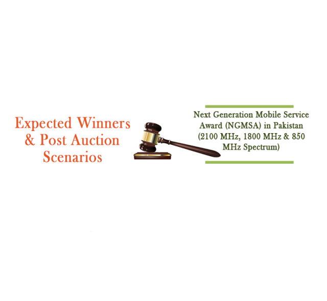 Pakistan NGSMA - Expected Winners & Post Auction Scenarios