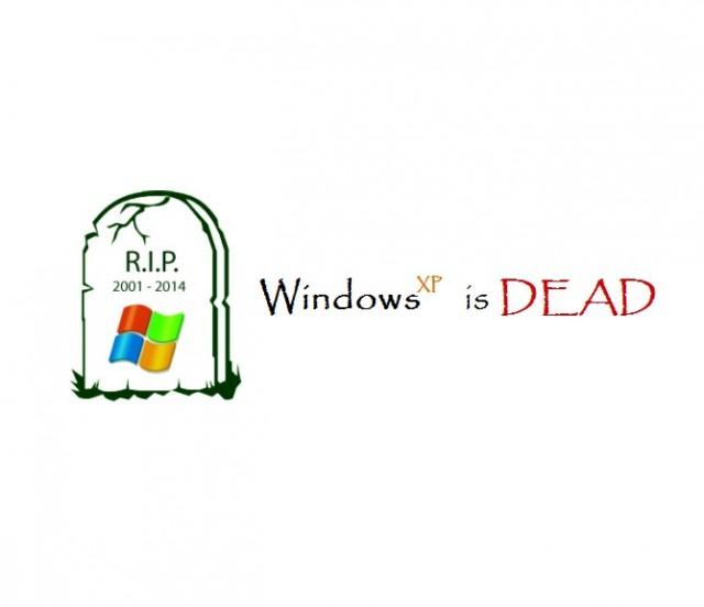 Windows XP is Dead