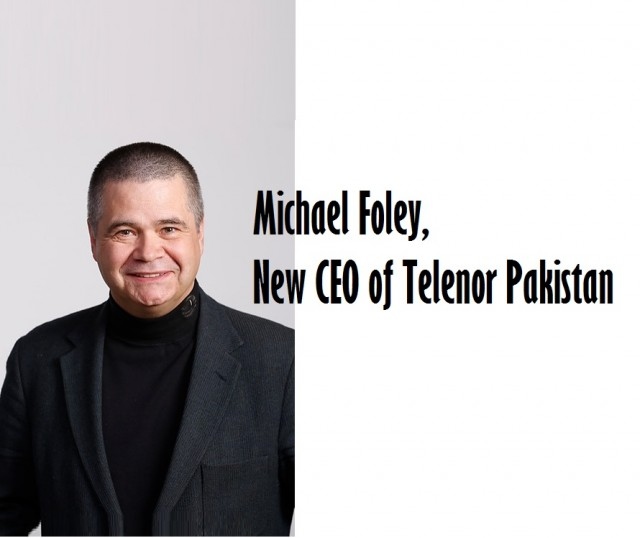 Telenor names Michael Foley as new CEO of Telenor Pakistan