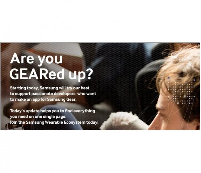 """Samsung Hosts """"Samsung Gear App Challenge"""""""