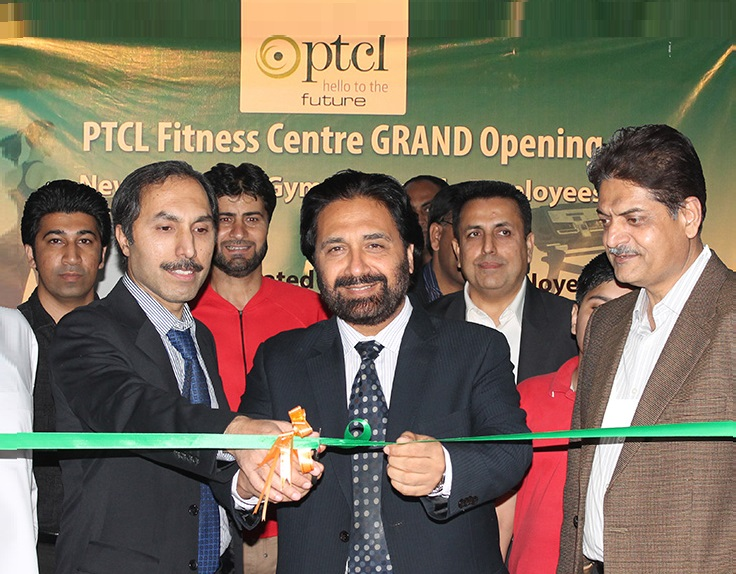 PTCL inaugurates new fitness centre for employees