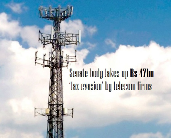 Senate body takes up Rs 47bn 'tax evasion' by telecom firms