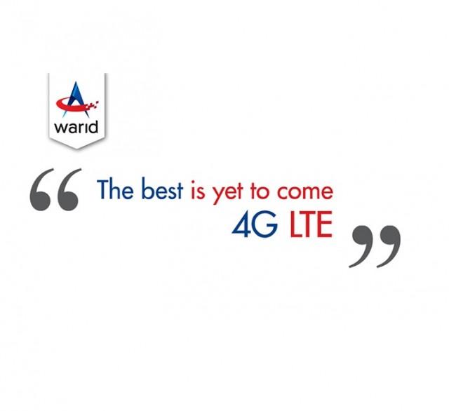 Warid set to launch 4G LTE After Assuring Quality Standards