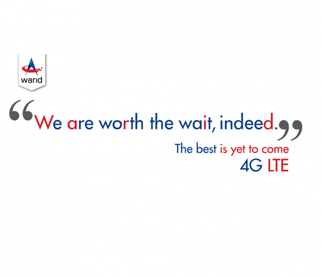 Warid Announces its 4G LTE