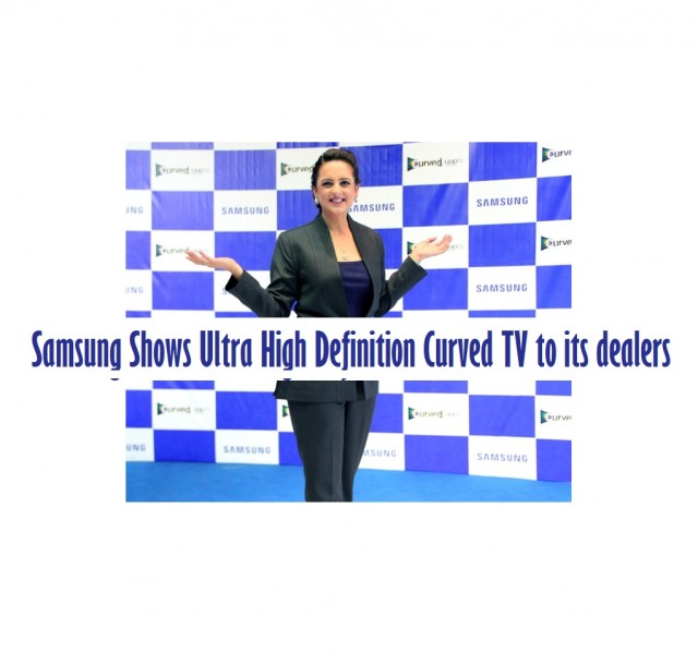 Samsung shows ultra high definition curved tv to its dealers - Ultra high def tv prank ...