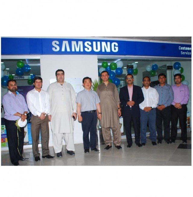 Samsung launches Service Centre in Lahore and Faisalabad