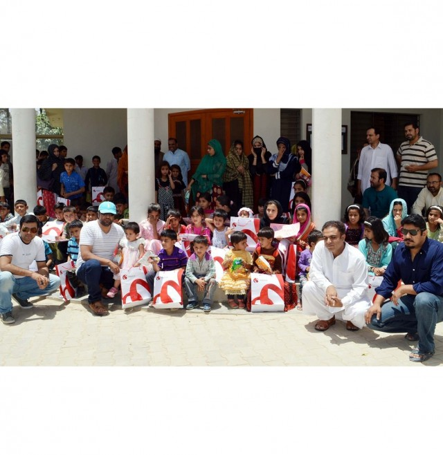 Mobilink Torchbearers spend a day at SOS Children's Village, Quetta