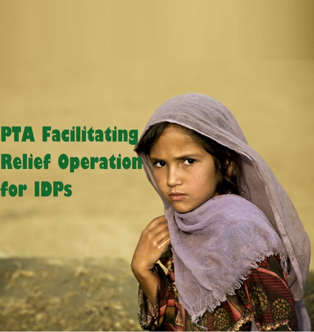 PTA Facilitating Relief Operation for IDPs