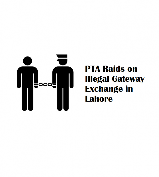 PTA Raids on Illegal Gateway Exchange in Lahore