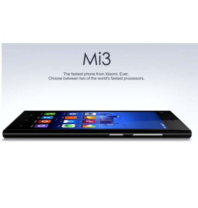 Xiaomi announces another smartphone Xiaomi Mi3