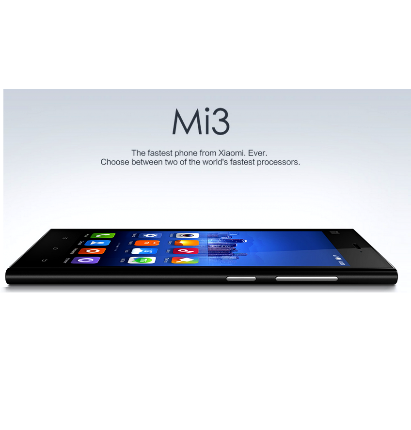 Xiaomi announces another smartphone Xiaomi Mi3