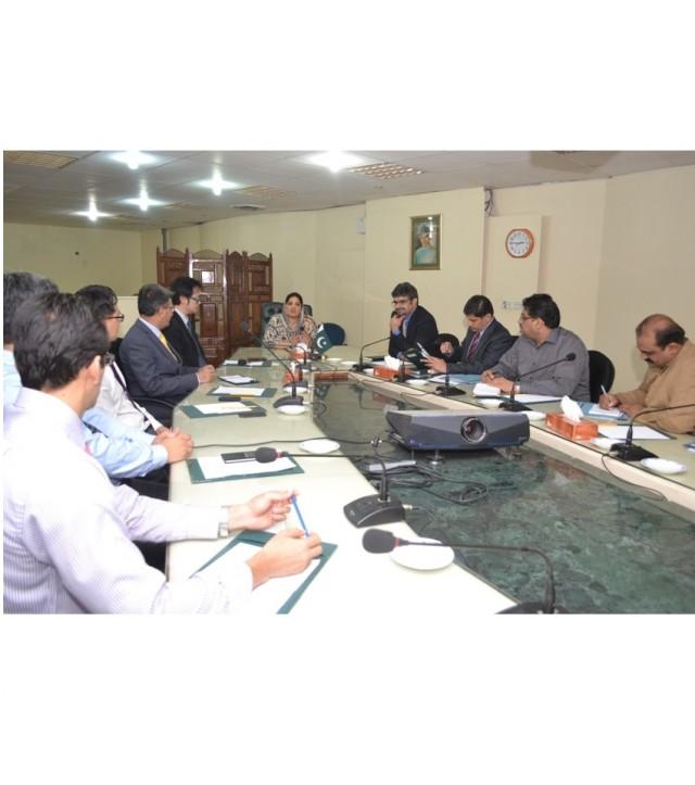 Anusha Meets ITU consultants for E-Governance Roadmap