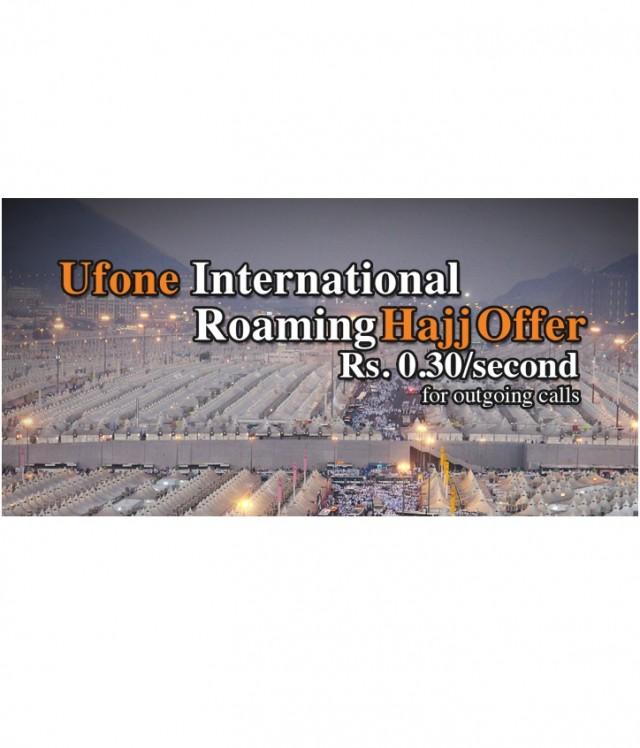 Ufone introduces IR Hajj offer
