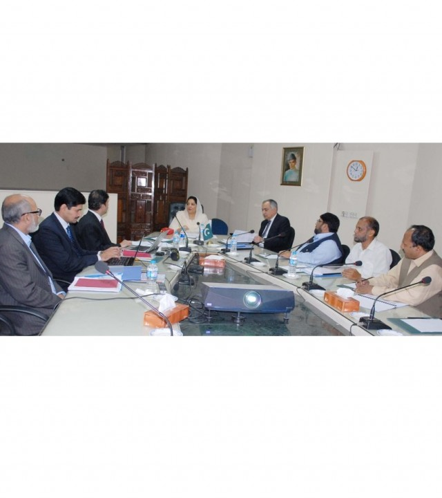 Anusha Rahman chairs 27th board of Directors meeting with PSEB