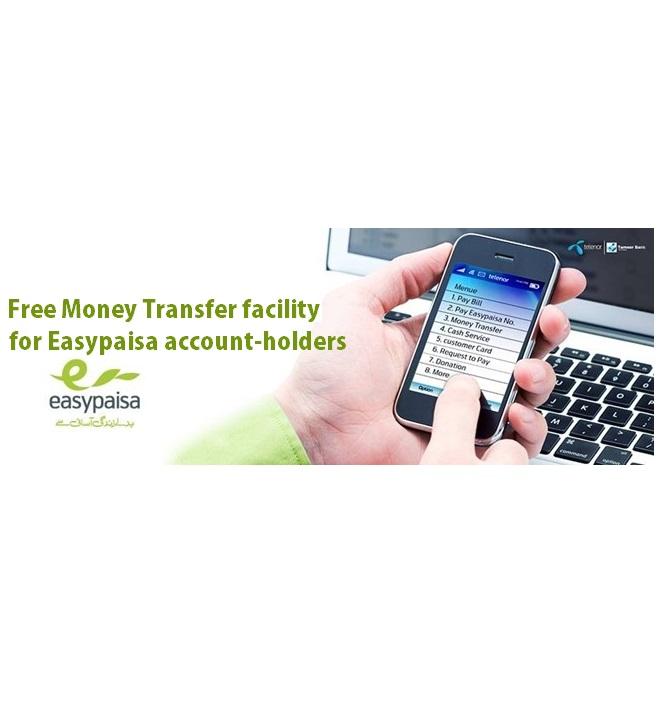 Telenor Offers Free Money Transfer for Easypaisa Holders