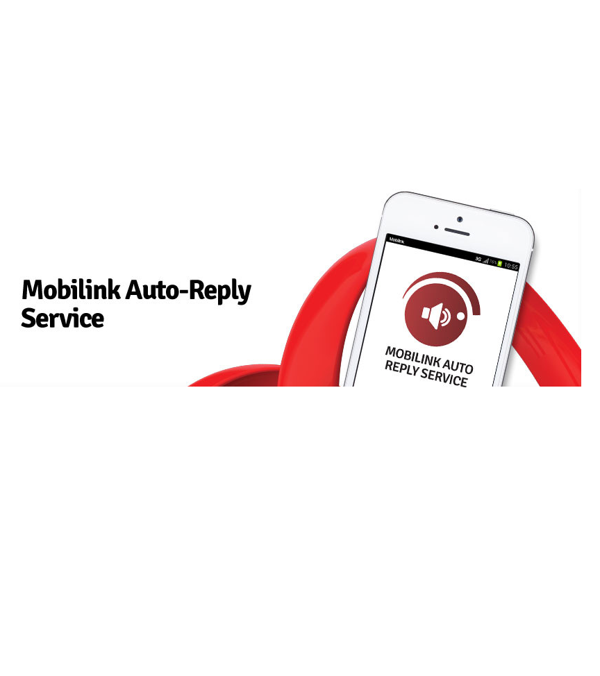 Mobilink Launches Mobilink Auto Reply for Calls
