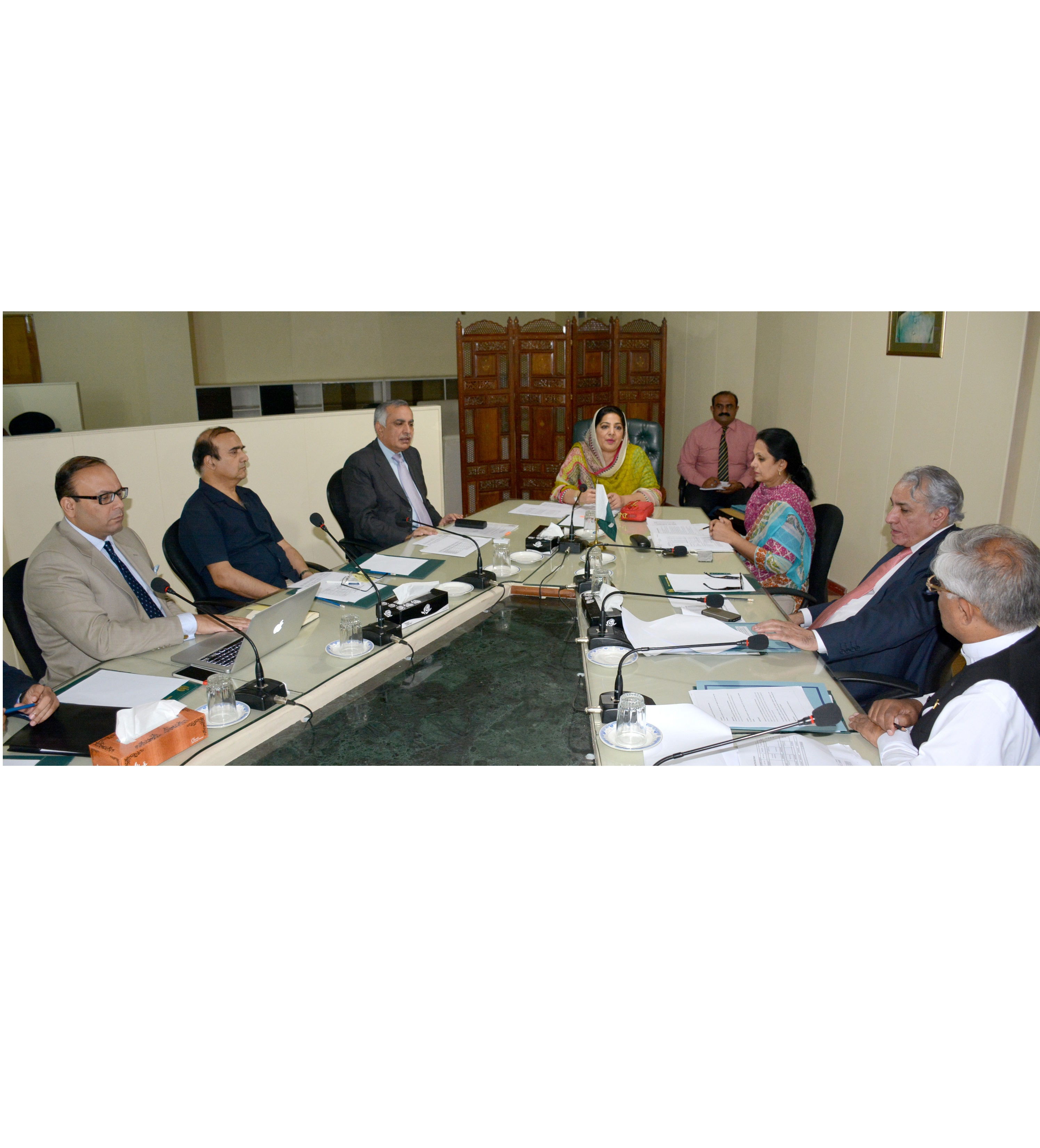 Secretary IT meets Board of Telecom Foundation