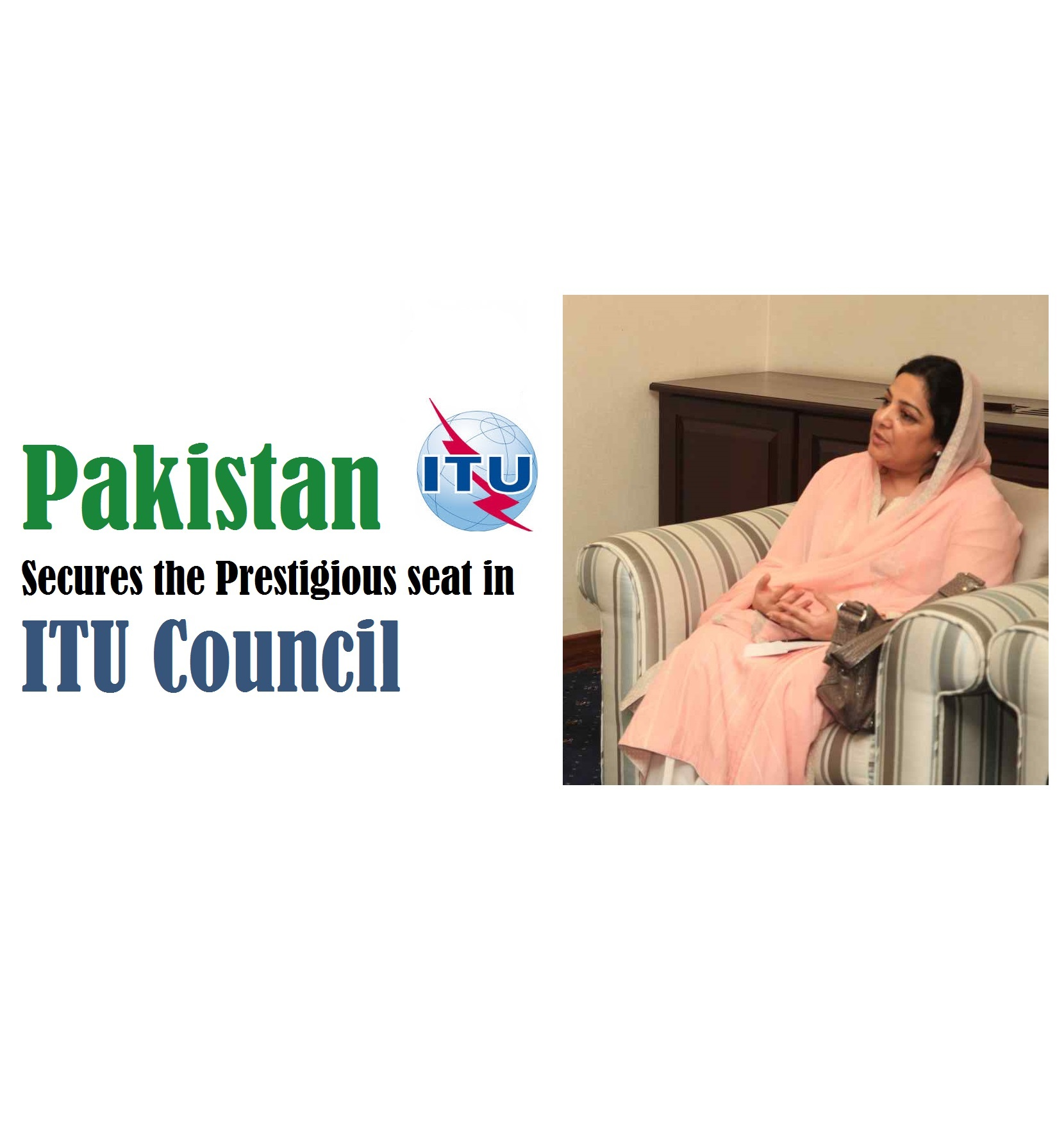 Pakistan secures seat in ITU Council