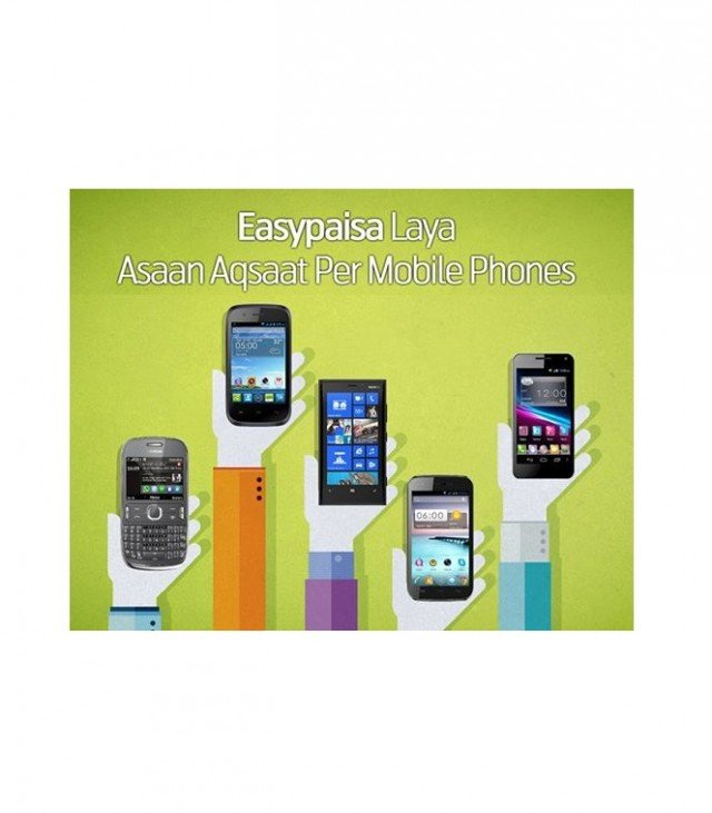 EasyPaisa Offers Mobile phones on Installment