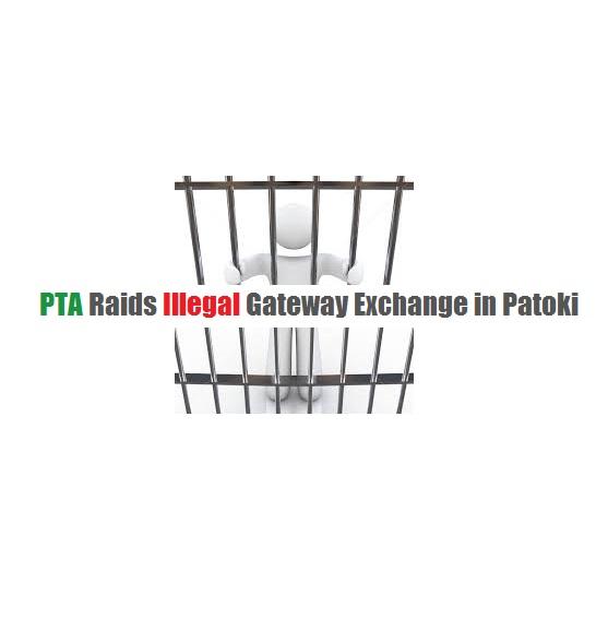 PTA Raids Illegal Gateway Exchange in Patoki