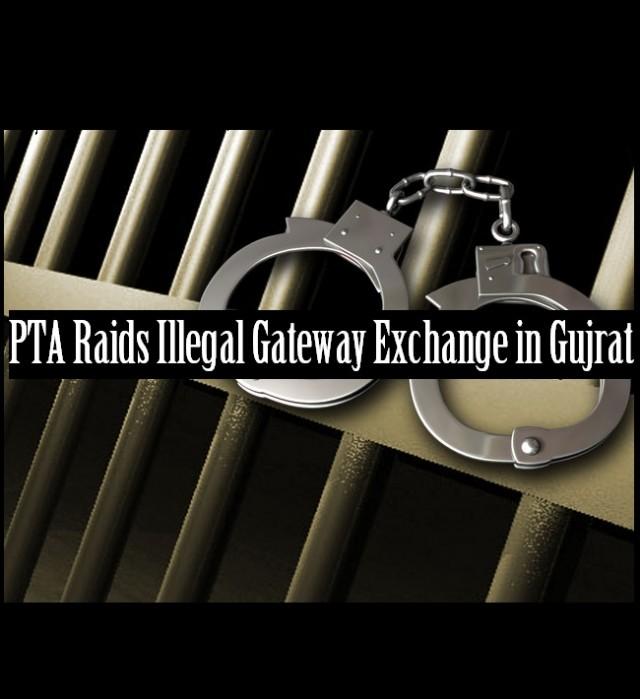 Illegal Gateway Exchange Raided in Gujrat