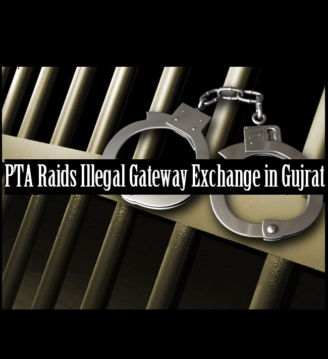 Illegal Gateway Exchange Raided in Gujrat