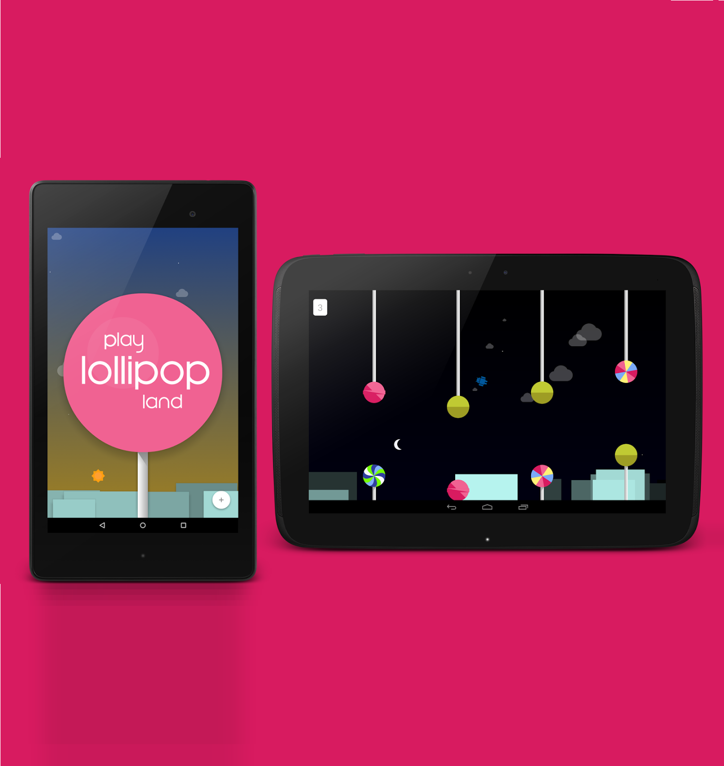 Android Lollipop Features a Hidden Flappy Bird game