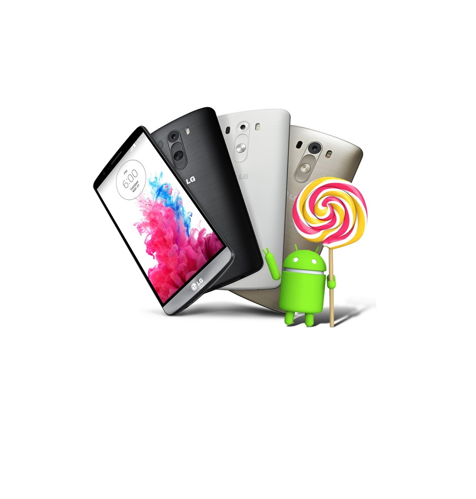 LG Rolls out Android 5.0 Lollipop upgrade