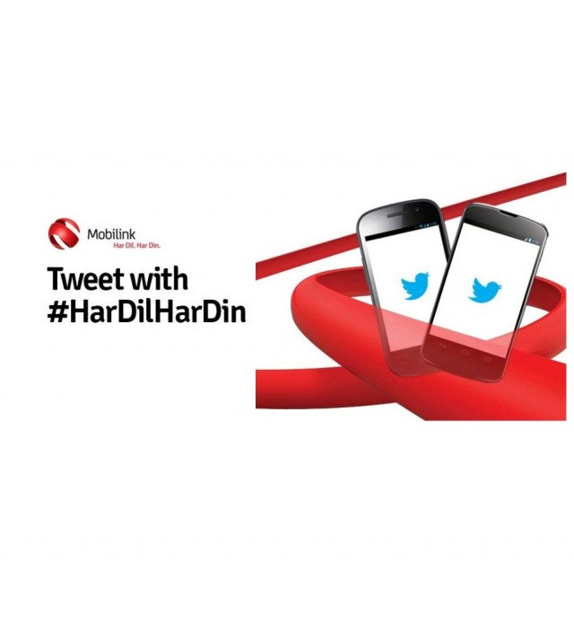 Mobilink Provides Free Access to Twitter Sign in