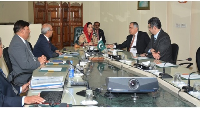 Anusha Rahman Chairs a Meeting of Telecom Foundation & Pak Datacom