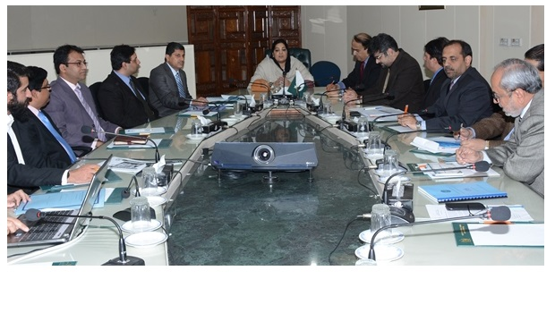 Anusha Rahman Chairs a Meeting for 'Tech City'