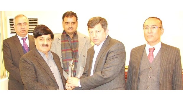 Minister of State for Parliamentary Affairs Visits PTA