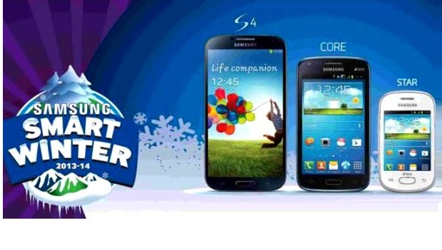 "Samsung Mobile Offers Special Prices on Smartphones - ""Smart Winter"""