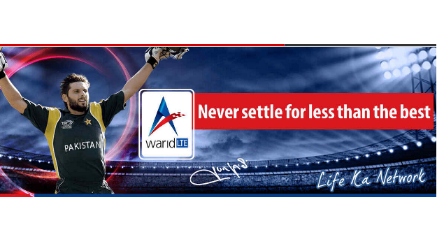 Warid 4G LTE Launches LTE Services Along With New Website