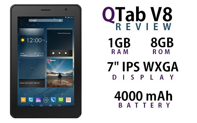 QTab V8 Review