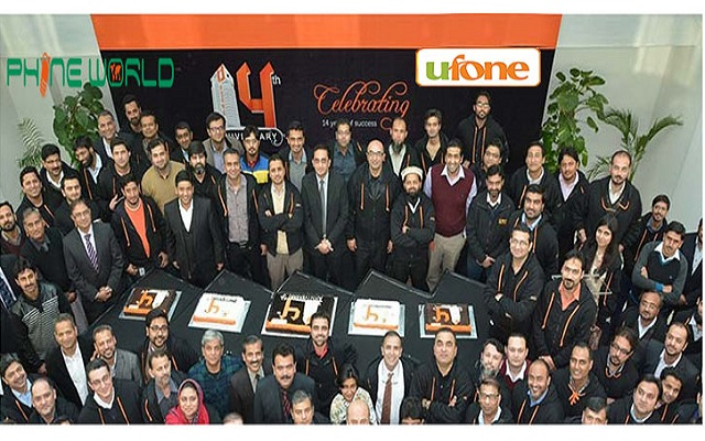 Ufone Celebrates its 14 Years Journey