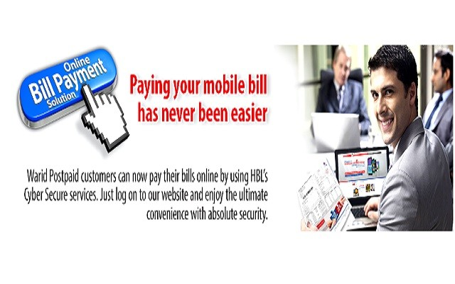Warid Introduces Online Bill Payment Service