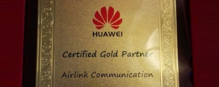 Photo of Huawei Certifies Airlink Communications with Gold Partner Award