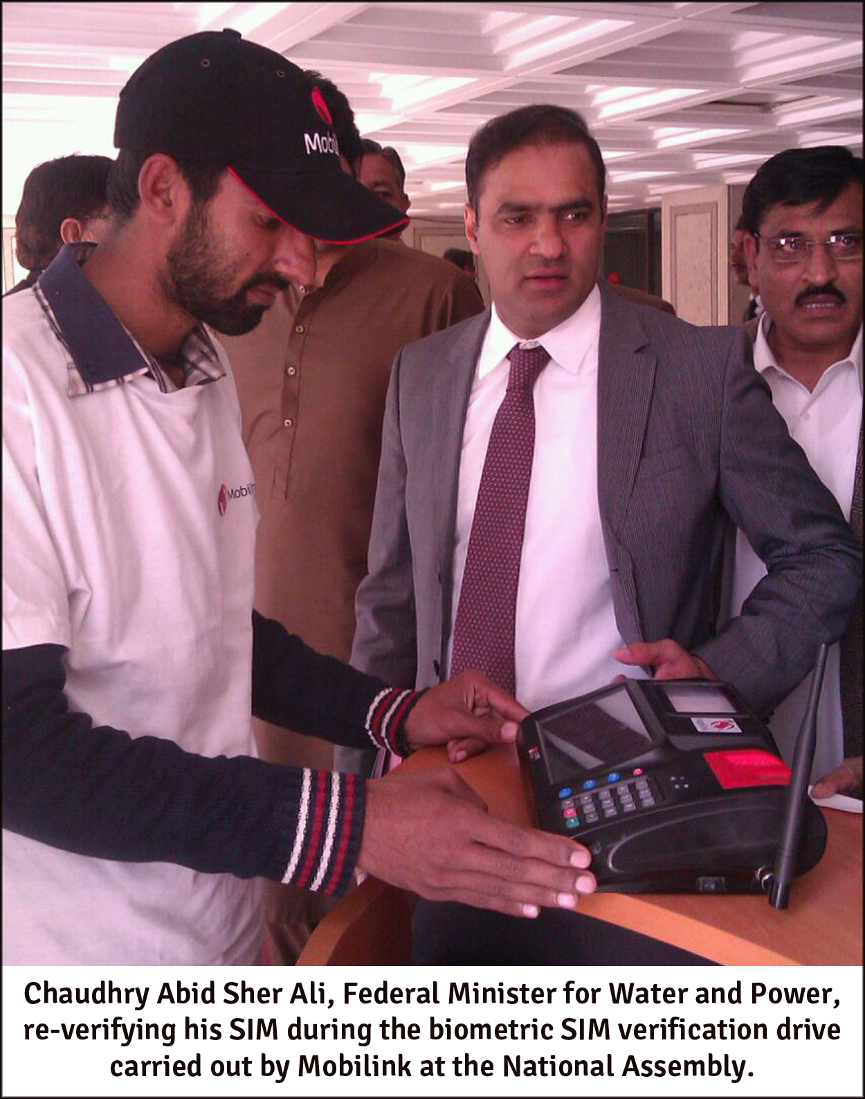 Mobilink Biometric SIM Verification