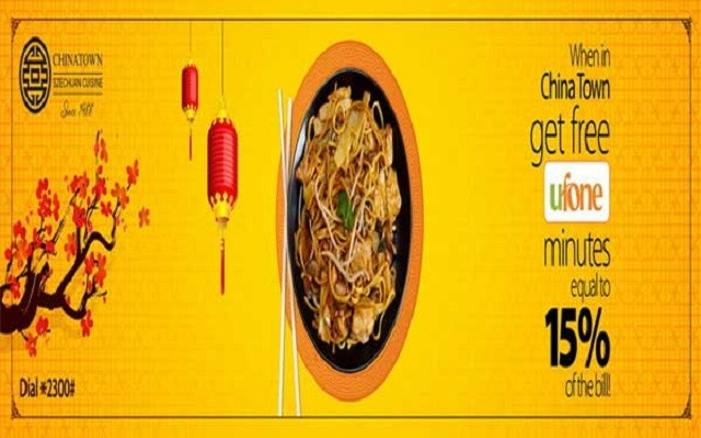 Ufone Gives FREE Minutes on Visiting CHINATOWN